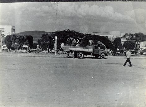 Praça Luiz Viana, década de 1960 (foto de autor desconhecido)